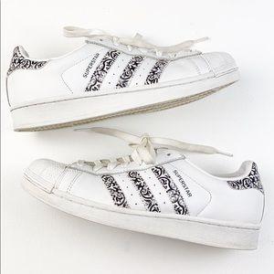 Adidas Superstar Fleur De Lis
